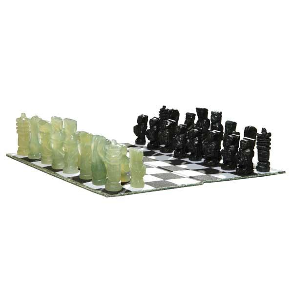 Shop Hand Carved Jade Chess Set China Free Shipping