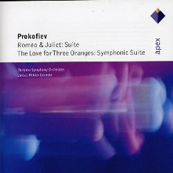 SARASTE/TORONTO SYMPHONY ORCHESTRA - PROKOFIEV: ROMEO & JULIET THE LOVE FOR THREE ORANG
