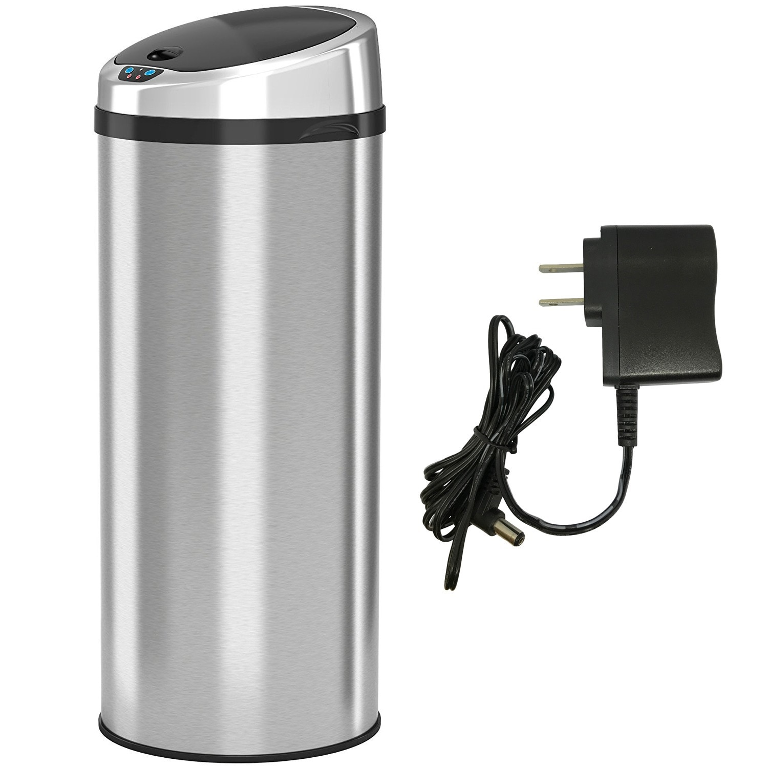 iTouchless 13 Gallon Automatic Stainless Steel Touchless ...