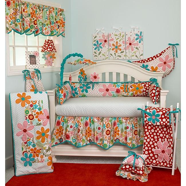 Cotton Tale Lizzie 4-piece Crib Bedding Set