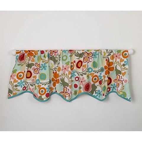 Cotton Tale Lizzie Window Curtain Valance - Multi