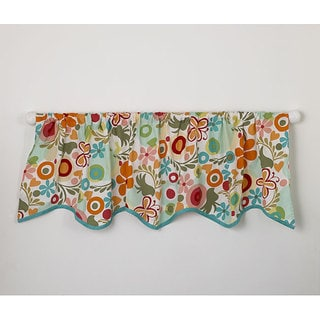 Cotton Tale Lizzie Window Curtain Valance