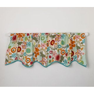 Cotton Tale Lizzie Window Curtain Valance - Multi