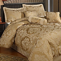Halifax 7 Piece Gold Comforter Set Free Shipping Today