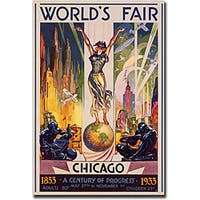 Glen Sheffer 'World's Fair Chicago' Canvas Art