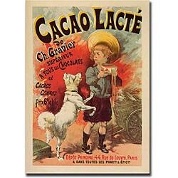 Lucien Lefevre 'Cacao Lacte' Canvas Art