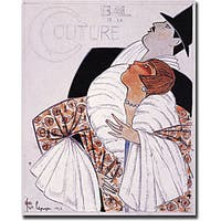 Bal de la Couture by Georges Lepape Art Canvas