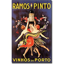 'Ramos Pinto Vinhos do Porto' Gallery Wrapped Canvas Art
