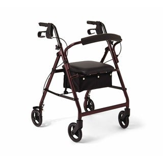 Medline Basic Walker/ Rollator (Medline Basice Walker/Rollator Burgundy)