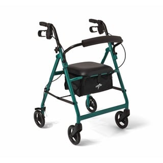 Medline Basic Walker/ Rollator (Medline Basice Walker/Rollator Green)