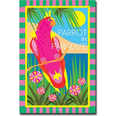 Grace Reily 'Parrot in' Gallery-wrapped Canvas Art