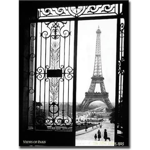 Sally Gall 'Views of Paris' Gallery-wrapped Art