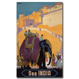 'See India' Gallery-wrapped Canvas Art
