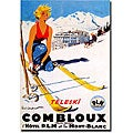 Paul Ordner 'Combloux' Gallery-wrapped Canvas Art