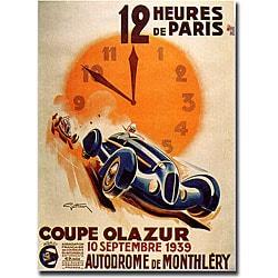 George Ham '12 Heur Paris' Canvas Art