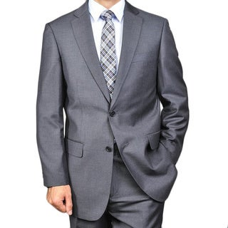 Link to Men's 2-button Solid Charcoal Suit Similar Items in Sportcoats & Blazers
