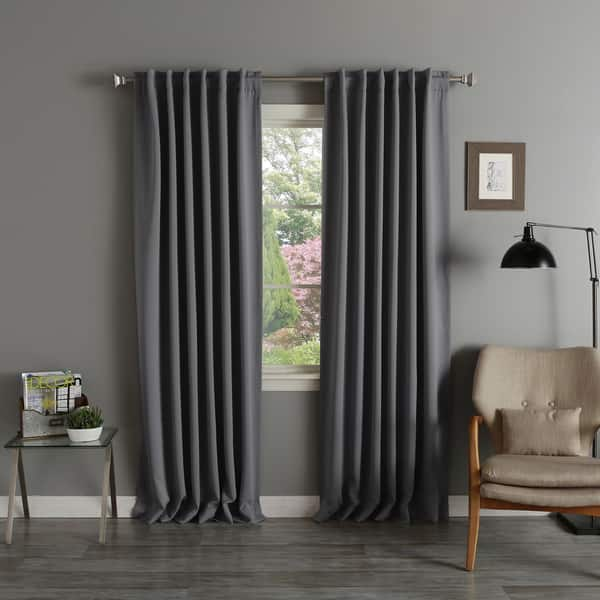 Inch Blackout Curtain Panel
