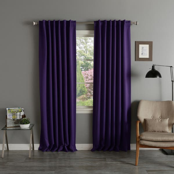 96 Inch Blackout Curtain Panel