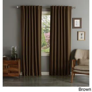 Brown, Thermal Curtains & Drapes - Shop The Best Deals For Apr 2017