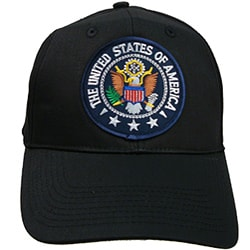 Presidential Patch Baseball Cap - Thumbnail 0
