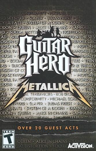 PS2 - Guitar Hero: Metallica (Software Only)