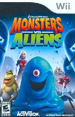 Wii - Monsters vs. Aliens
