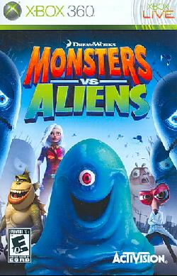 Xbox 360 - Monsters vs. Aliens