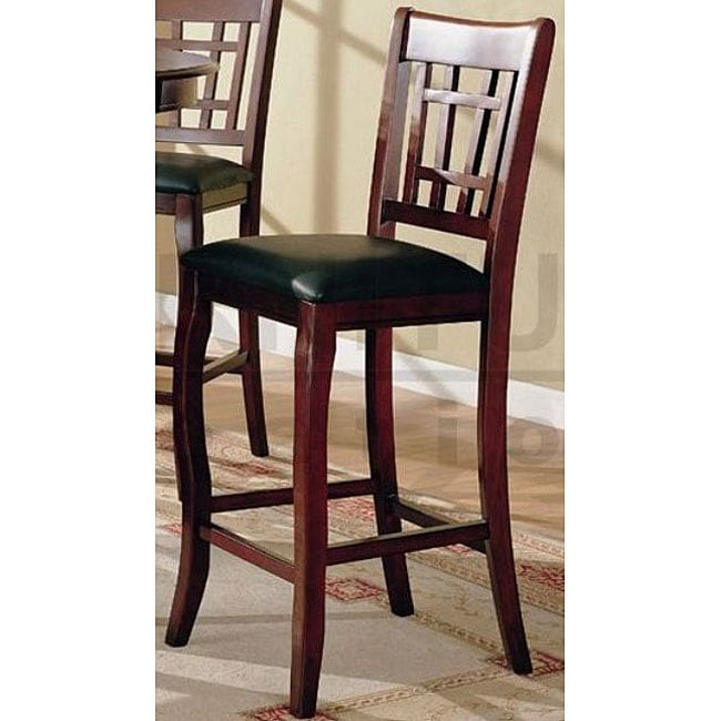 Shop Cherry Splendor Barstools Set Of 2 Free Shipping