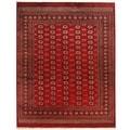 Herat Oriental Pakistan Hand-knotted Bokhara Wool Rug (8' x 10')