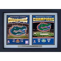 Florida Gators '08-09 Champions 12x18 Sports Frame