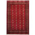 Herat Oriental Pakistan Hand-knotted Bokhara Wool Rug (6' x 9')