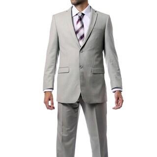 Ferrecci Men's Two-button Solid Suit