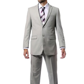 Ferrecci Men's Two-button Solid Suit