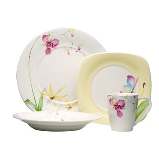 Red Vanilla Leilani 16-piece Dinnerware Set