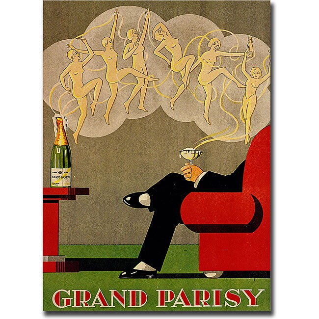 'Grand Parisy' Gallery-wrapped Canvas Art