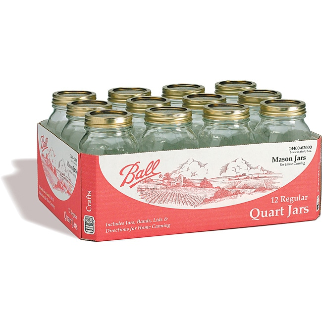 Ball 32-ounce/ Quart Mason Jars (Case of 24)