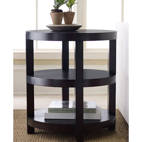 Abbyson Morgan Round Accent Table
