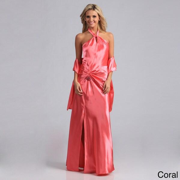 Aspeed Women's Halter-style Formal Dress