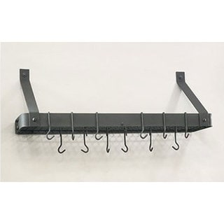 Graphite Pot Rack with 12 Hooks