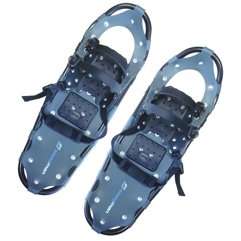 Medium Swagman Black Lightweight Aluminum/Rubber Proform Snowshoes