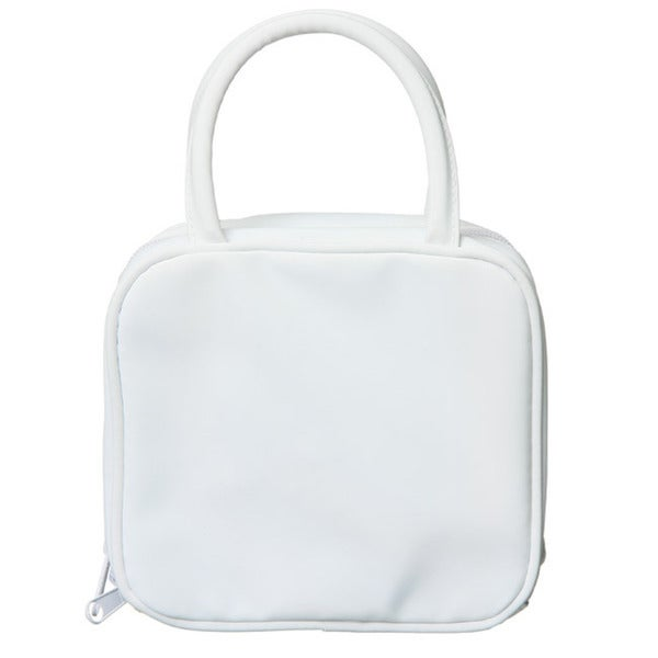 Isabella Rossellini White Cosmetics Travel Bag