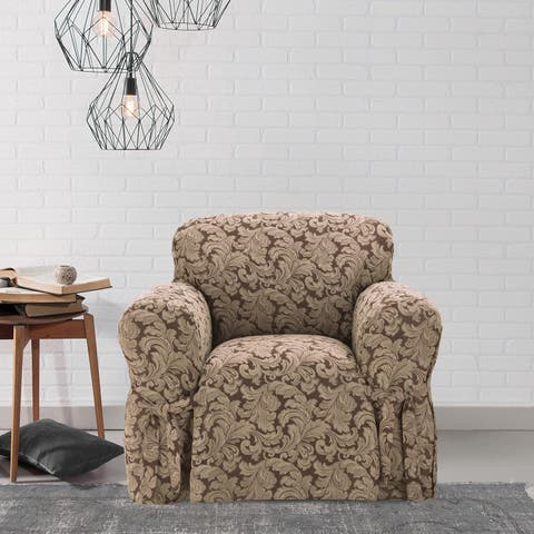 Scroll Chair Slipcover