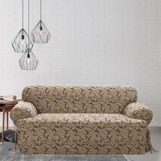 Scroll T-cushion Sofa Slipcover