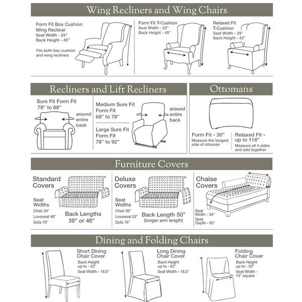 Magnificent Shop Sure Fit Cotton Classic Ottoman Slipcover Free Ncnpc Chair Design For Home Ncnpcorg