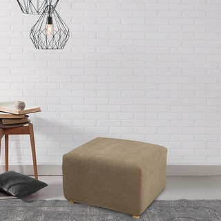 Sure Fit Stretch Ottoman Slipcover