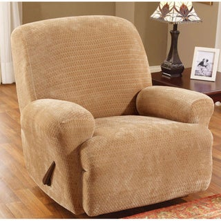 Sure Fit Royal Diamond Stretch Recliner Slipcover