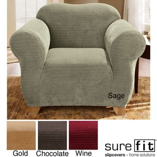 Sure Fit Royal Diamond Stretch Chair Slipcover