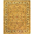 Safavieh Handmade Classic Heirloom Beige Wool Rug (9'6 x 13'6)