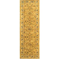 Safavieh Handmade Classic Heirloom Beige Wool Runner (2'3 x 10')