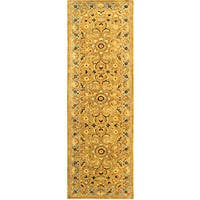 Safavieh Handmade Classic Heirloom Beige Wool Runner (2'3 x 8')